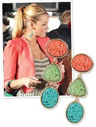 gossip girl earrings gossip girl fashion serena s earrings and more instyle