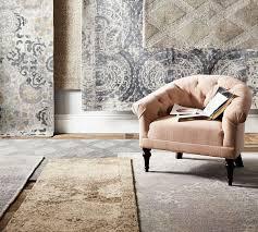 kenley tufted rug grey pottery barn au