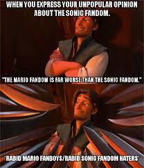 Haters Memes - rabid sonic fandom haters in a nutshell by supernicolas1234 on