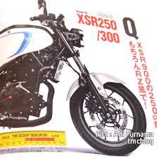 membuat lu led headl motor yamaha xsr250 versi cafe racer dari r25 sedang disiapkan