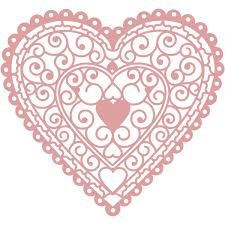 heart doily intricut heart doily die 11 6 x 10 8 cm hobbycraft