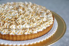 cuisine tarte au citron tarte au citron meringuée recette az