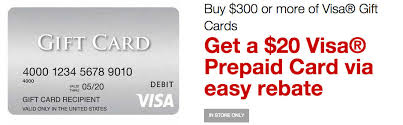 where to buy gift cards for less get a 20 visa gift card when you buy 300 in visa gift cards
