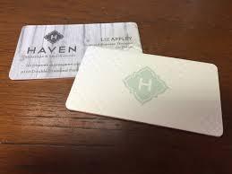 Marine Business Cards Cotton Letterpress Business Cards