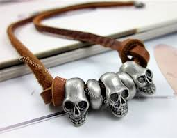 leather necklace wholesale images Free shipping l00 leather charm necklace anti copper charms jpg