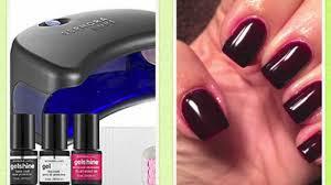 gel manicure sephora by opi gelshine youtube