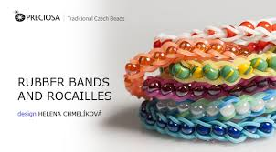 bracelet made from rubber bands images Rubber bands and rocailles png