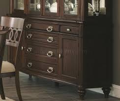 alyssa dining table in dark cognac by coaster w options