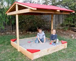 Backyard Sandbox Ideas How To Build A Covered Sandbox How Tos Diy
