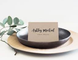 printable name place cards best 25 place card template ideas on diy wedding
