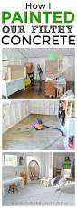 Paint Concrete Floor Ideas by Shed Floors One Room Challenge Week 4 Concrete Floor Concrete