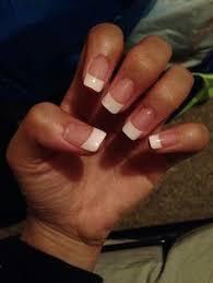 mauve colored coffin shaped gel polish acrylic nails nails