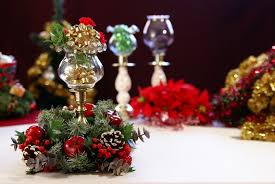 Christmas Table Decoration Ebay by How To Decorate Your Table With A Christmas Centerpiece Ebay