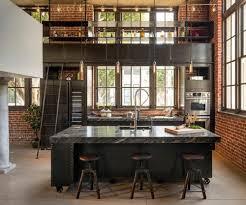 cuisine avec brique quel intérieur pour ma cuisine industrielle