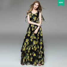 aliexpress buy s lemon printed bow shoulder