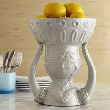 utopia carmen ceramic white bowl pottery jonathan adler