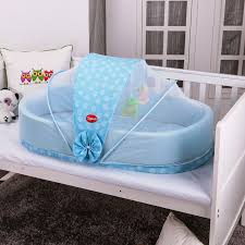 Travel Mosquito Net For Bed Blue Travel Bed For Baby Cozy And Ideal Travel Bed For Baby