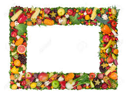 best vegetable border 10344 clipartion com