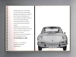 porsche instructions porsche 912 owners manual