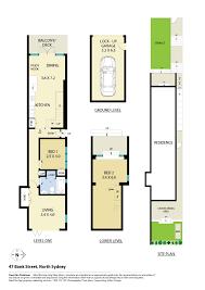 Floor Plan Bank by 47 Bank Street North Sydney Nsw 2060