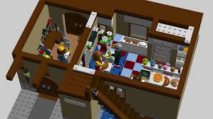 wood lego house lego ideas half timbered house with bakery wood atelier and