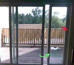 How To Remove Patio Door Sliding Door Panels For Patio Doors Islademargarita Info
