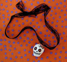 zombie halloween ornaments made from clay lynda makara