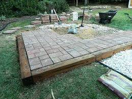 Easy Patio Pavers Awesome Patio Pavers Lowes Great Easy Patio Ideas Patio Brick
