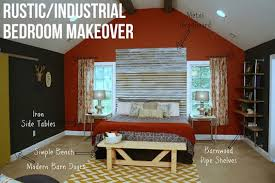 Before And After Bedroom Makeover Pictures - before and after bedroom gets rustic industrial makeover curbly
