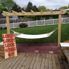 backyard u0026 patio pretty love design homemade hammock stand for