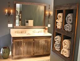 Barnwood Bathroom Vanity Barnwood Bathroom Vanity Brown Finish Laminated Wooden Glass