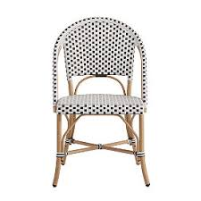Hadley Bistro Chair Imported Wicker Furniture Grandin Road