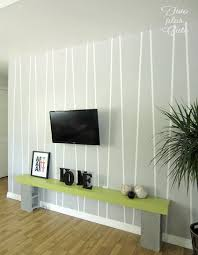15 minute accent wall with electrical tape electrical tape