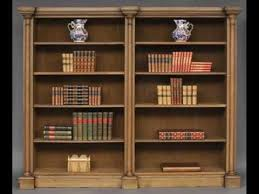 oak bookcases with glass doors antique oak bookcase with leaded glass doors youtube