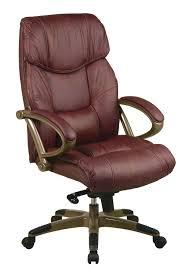 Vintage Brown Leather Chair Bedroom Alluring Executive Leather Office Chair Chairs Vintage