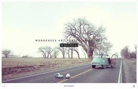 15 stunning u0026 minimal art wordpress themes 2017 colorlib