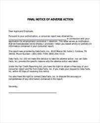 final notice template collection letter to client best