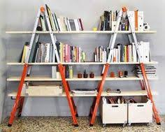 Wooden Ladder Bookshelf Plans by 25 Awesome Diy Ideas For Bookshelves Ladder Bookshelf Books And