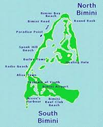 bahamas on map bimini bahamas map of bimini you can t get lost on this