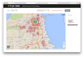 Crime Spot Map Elasticsearch Demo Sf Crime Analysis Using Significant Terms