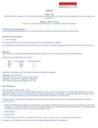 Examples Of Accomplishments On A Resume The Compelling Resume Macroccs