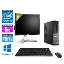 ordinateur de bureau windows 7 occasion ordinateur bureau d occasion pas cher occasion et reconditionné