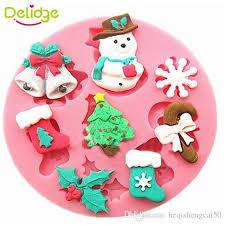 snowman christmas tree 2018 delidge snowman christmas tree cake mold silicone diy fondant