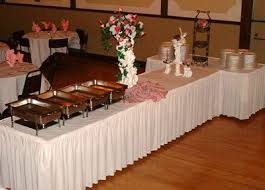 how to set up a buffet table buffet table set up shirred pleat skirting entertaini on modern