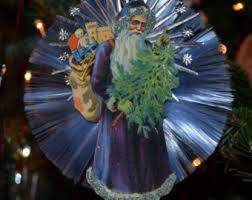 spun glass ornament etsy