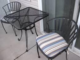 Woodard Iron Patio Furniture - patio 45 metal patio table vintage iron patio furniture