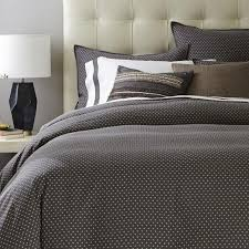geo grey duvet cover and shams