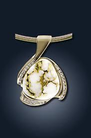 gold quartz necklace images Gold quartz jewelry from wilderness mint jpg