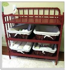 Changing Table Storage Baskets Room Organizer Nursery Storage Baskets Fabric Bins