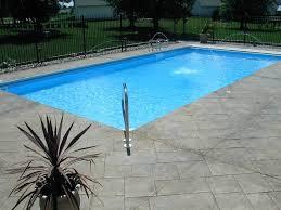 Inground Pool Patio Designs Home Newberry Pools U0026 Spas